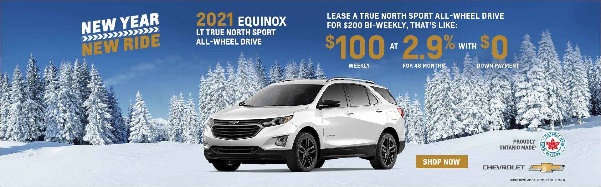 2021 Chevrolet Equinox Specials Milton
